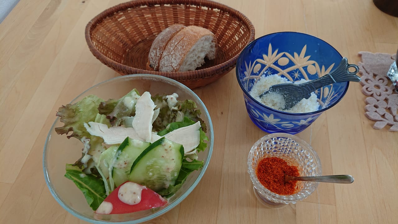 サラダ・パン